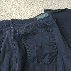Ag Adriano Goldschmied Jeans - AG Jeans The Ballard Slim Boot Black Jeans Sz 32R